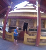 Ian at Mandalay Palace 2