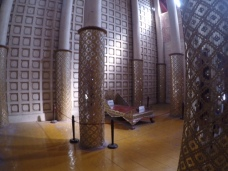 Kings bed Mandalay Palace