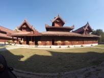 Outer buildings Mandalay Palace.