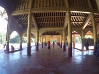 Entrance hall at Mandalay Palace