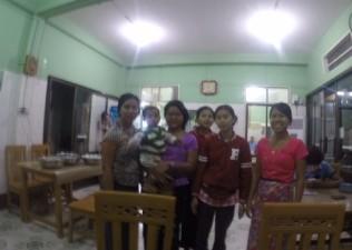 Myanmar restaurant Jan 17