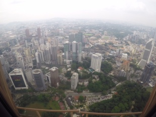 View from KL Tower - March 2017