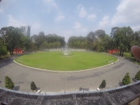 View from Balcony at Reunification Palace