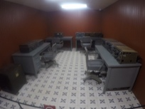 Comms room at Reunification Palace