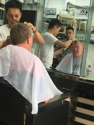 Ian's Vietnam haircut