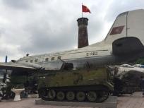 Aircraft and tank, Hanoi