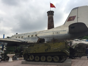 Aircraft and tank, Hanoi