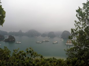 View from Ti Top Island, Halong Bay - March 2017