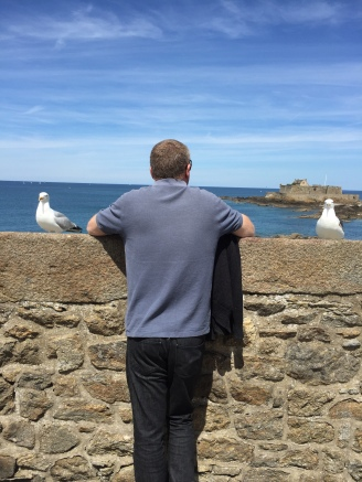 Seagulls giving Ian the eye!