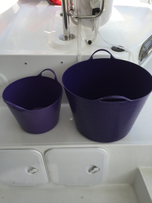 """Purple Washing Buckets"""