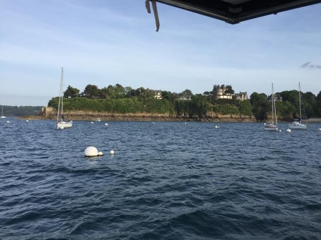 A8. St Malo anchorage 22.5.17.