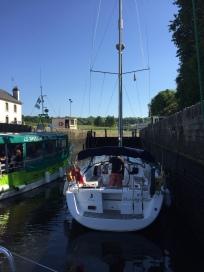 C4. Pontrieux Lock - Morning Star 25.5.17.