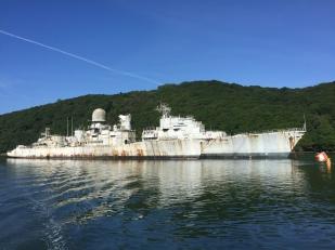 10. War ships - 1 June 2017 - River Alune