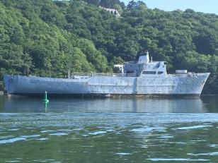 11. War ships River Alune - 1.6.17.