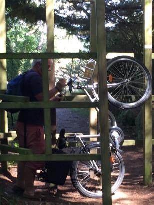 28. Bob doing a wheelie 3.6.17.