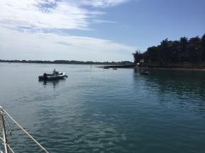 A. Ile Longue, Golfe Du Morbihan 13.6.17.