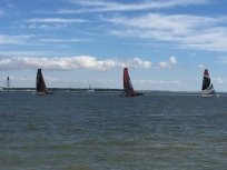 A2. Smaller Trimarans racing 23.6.17.