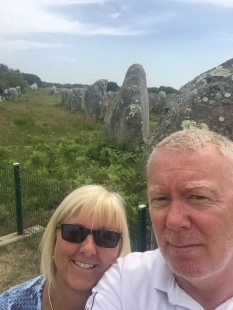 D2. Us at Megaliths, Carnac 12.6.17.