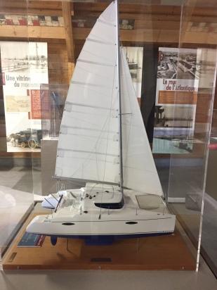 Mahe 36 model boat