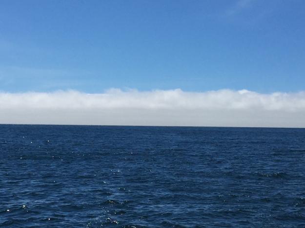 A2. Cabo Raso, Nr Lisbon leaving fog behind 18.8.17.