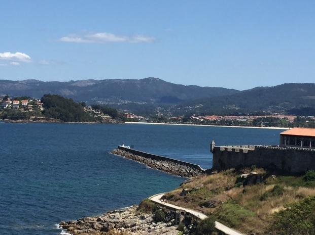 B4. View of Ria de Baiona 9.8.17.