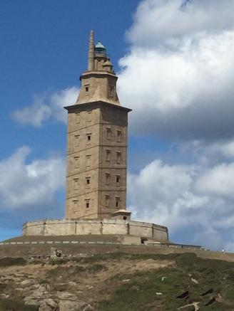 D1. Torres de Hercules, A Coruna 29.7.17.