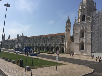 E1. Monastery Jeronimos,Lisbon 21.8.17.