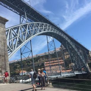 E2. Dom Luis Bridge . Porto 12.8.17.
