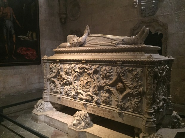 E4. Tomb of Vasco da Gama, Lisbon - 21.8.17.