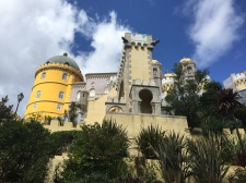 H1. Pena Palace, Sintra 27.8.17.
