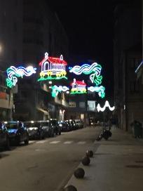 H2. Fiesta decorations at Riveira 5.8.17.