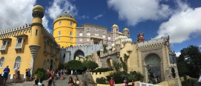 H2. Pena Palace, Sintra 27.8.17.