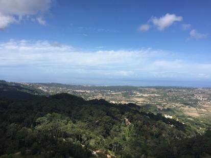 J3. Views from Pena Palace, Sintra 27.8.17.