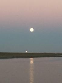 D6. Moon rising Praia de Faro 5.9.17.