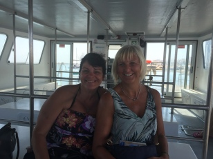F2. Ferry to Faro - Shelley & Lorraine 7.9.17.