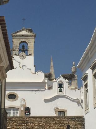 F7. Faro gate - stork nests 7.9.17.