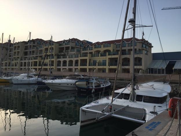 C1. Cuffysark at Queenway Marina, Gibraltar 13.10.17.