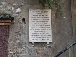C3. Trafalgar Cemetery, Gib 13.10.17.