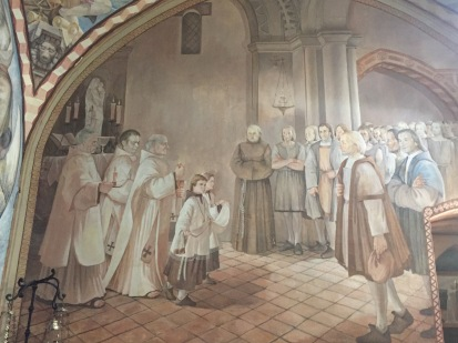 D2. Monastry, Mazagon - scene of Christopher Columbus - 6.10.17.