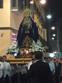 C2. Procession in Cartagena 21.10.17.