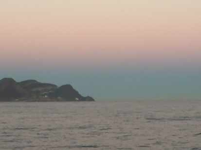 D1. Sun gone down at Cabo de Gata 20.10.17.