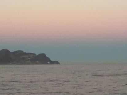 D1. Sun gone down at Cabo de Gata 20.10.17.