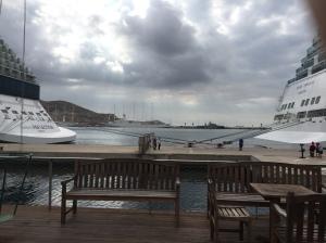 F1. Cruise ships in Cartagena 23.10.17.