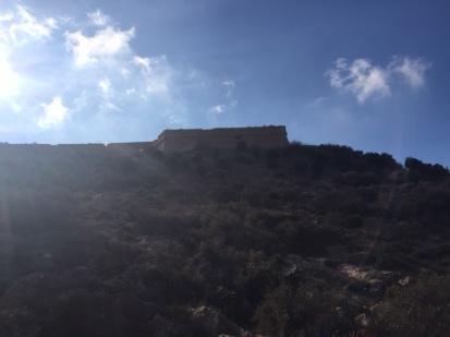 G4. nearly at the castle, Cartagena Nov 17