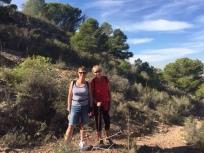 H3. Linda and Val, walking companions - Cartagena 22.11.17.
