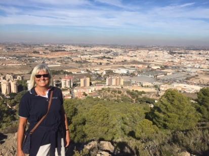 H7. Lorraine on the hillside, Cartagena 22.11.17.