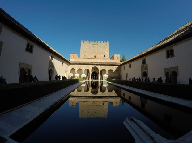 Court of the Myrtles, Nasrid Palace, Granada