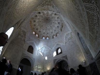 Plasterwork at Nasrid Palace