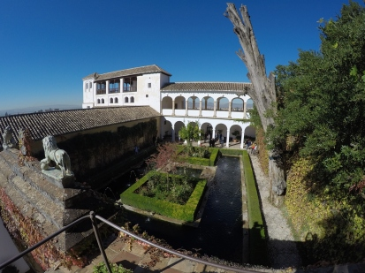 The Generalife Palace and Gardens