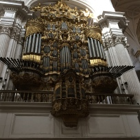 The Organ in Granada Cathedral